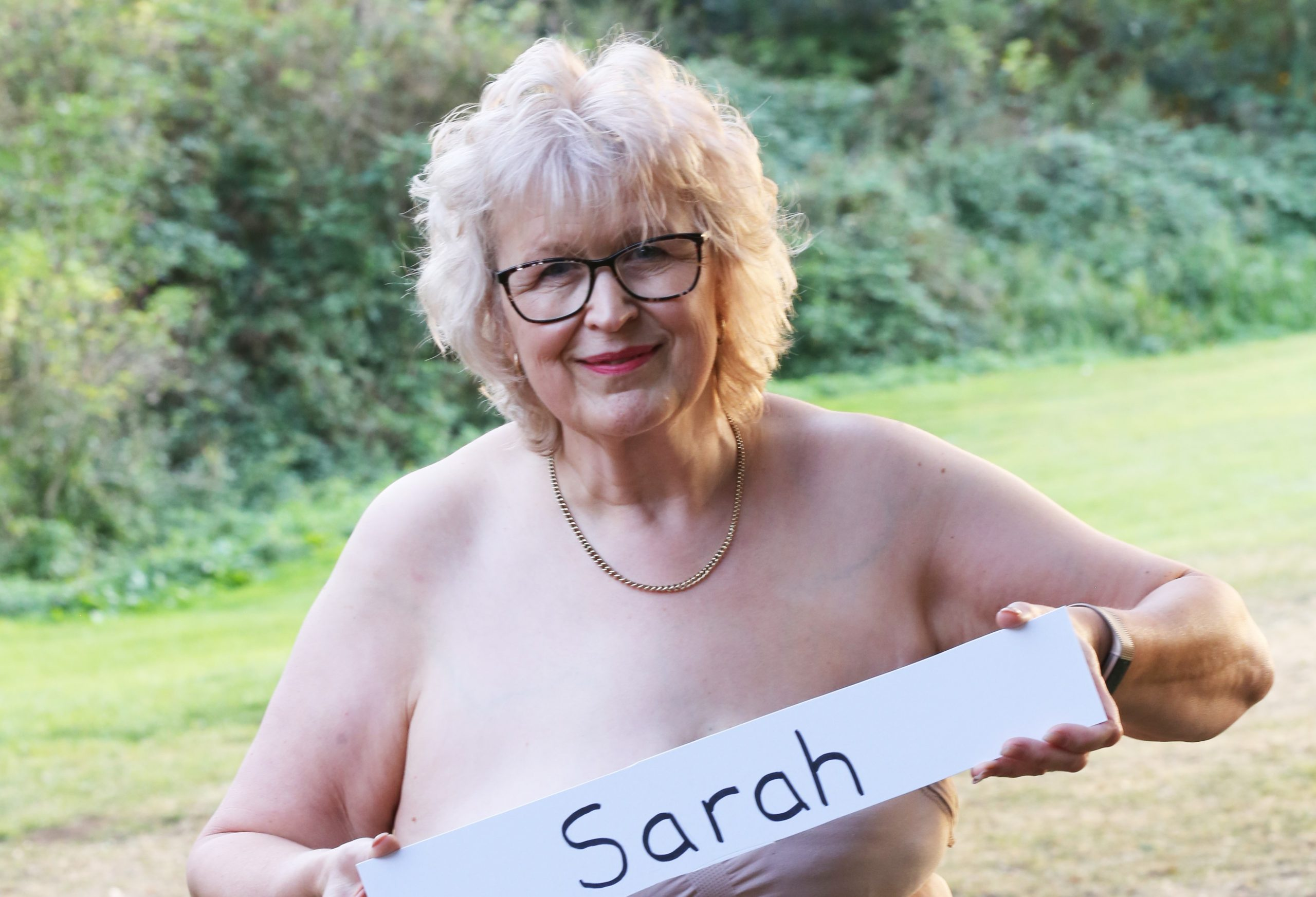 A picture of Sarah Cooke taken during our calendar shoot.